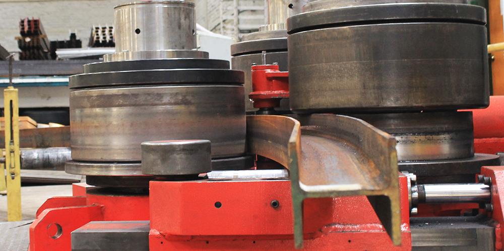 Curvadoras de perfiles CNC