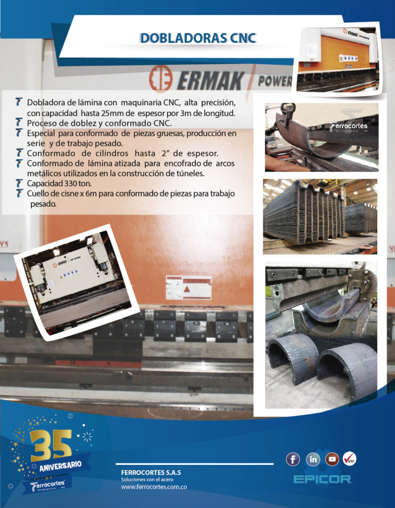 Dobladoras CNC